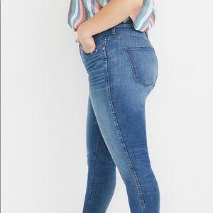 Madewell NWT Tall High Rise Skinny Jeans Sz T37